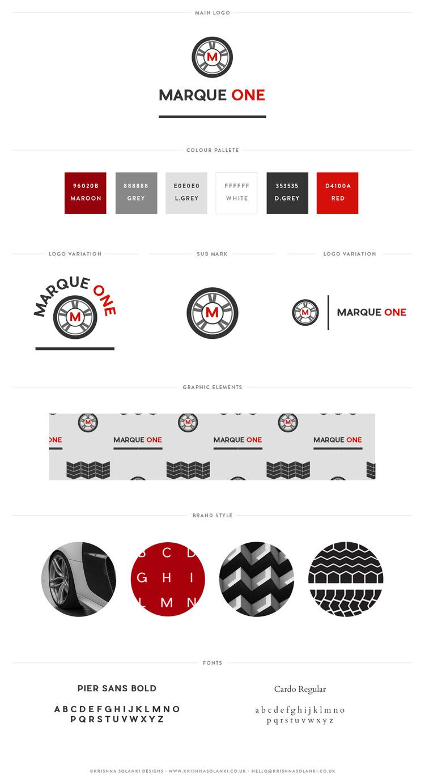 MARQUE ONE brand board